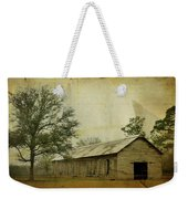 Abandoned Tobacco Barn Weekender Tote Bag by Carla Parris