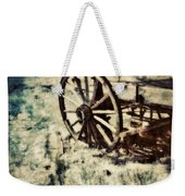 Abandoned Wagon By Old Ghost Town. Weekender Tote Bag
