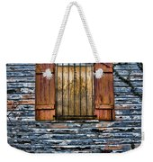 Abandoned Wood Building Weekender Tote Bag