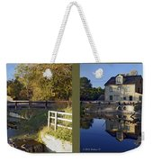 Abbotts Pond - Gently Cross Your Eyes And Focus On The Middle Image Weekender Tote Bag