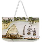 Abel Tasman Expedition 1643 Weekender Tote Bag