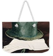 Aberaham Lincolns Hat, Cane And Gloves Weekender Tote Bag