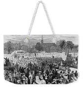 Abolition Of Slavery Weekender Tote Bag