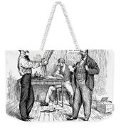 Abolitionist Newspaper Weekender Tote Bag