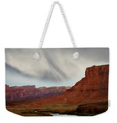 About To Rain Weekender Tote Bag