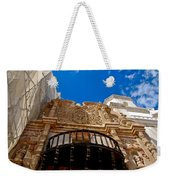Above The Front Entry San Xavier Mission Weekender Tote Bag