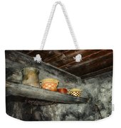 Above The Stove Weekender Tote Bag by Jutta Maria Pusl