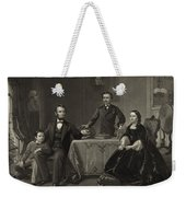 Abraham Lincoln And Family Weekender Tote Bag