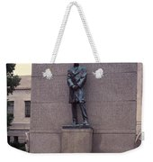 Abraham Lincoln Statue Weekender Tote Bag