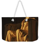 Abraham Lincoln Statue In Lincoln Weekender Tote Bag