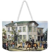 Abraham Lincolns Home Weekender Tote Bag