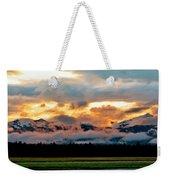 Absaroka Sunset Weekender Tote Bag