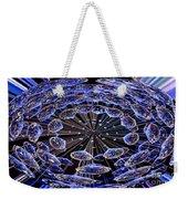 Abstract - Blue Diamonds Weekender Tote Bag