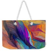 Abstract 021212 Weekender Tote Bag