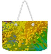 Abstract 167 Weekender Tote Bag