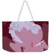 Abstract 189 Weekender Tote Bag