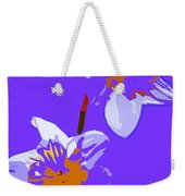 Abstract 193 Weekender Tote Bag