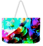 Abstract 253 Weekender Tote Bag