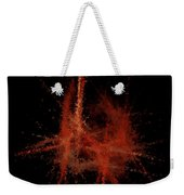Abstract A Paris Evening Weekender Tote Bag