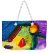 Abstract - Acrylic - Primitives Weekender Tote Bag by Mike Savad