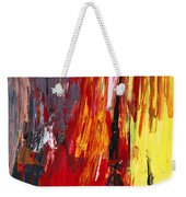 Abstract - Acrylic - Rising Power Weekender Tote Bag by Mike Savad