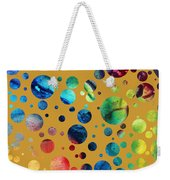 Abstract Art Digital Pixelated Painting Image Of Beauty Of Color By Madart Weekender Tote Bag