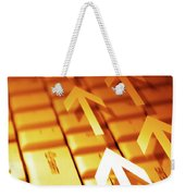 Abstract Background Weekender Tote Bag by Carlos Caetano