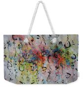 Abstract Calligraphy115 Weekender Tote Bag