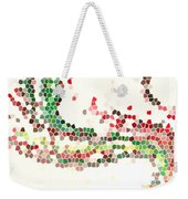 Abstract Celebration Weekender Tote Bag