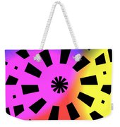 Abstract Color Forms Weekender Tote Bag