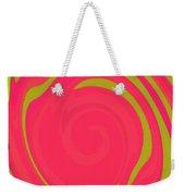 Abstract Color Merge Weekender Tote Bag
