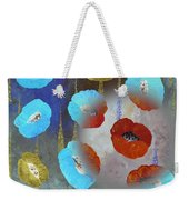 Abstract Colorful Poppies Weekender Tote Bag