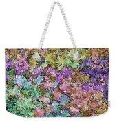 Abstract Colors Pale Weekender Tote Bag