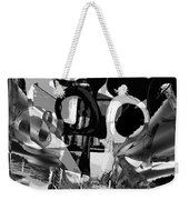 Abstract Composition Of Kitchen Utensils Weekender Tote Bag