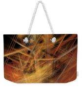 Abstract Crisscross Weekender Tote Bag