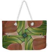 Abstract Curves Weekender Tote Bag by Deborah Benoit
