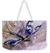 Abstract Dragonfly 9 Weekender Tote Bag