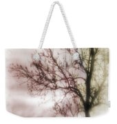 Abstract Fall Trees Weekender Tote Bag