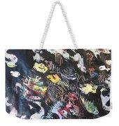 Abstract Fish212 Weekender Tote Bag