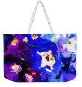 Abstract Floral 031112 Weekender Tote Bag