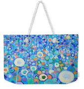 Abstract Flowers Field Weekender Tote Bag