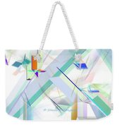 Abstract Flying Objects Weekender Tote Bag