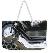 Abstract Front End Weekender Tote Bag