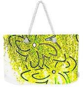 Abstract Fusion 107 Weekender Tote Bag