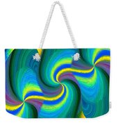 Abstract Fusion 108 Weekender Tote Bag