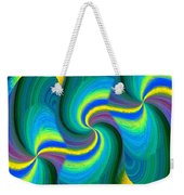 Abstract Fusion 108 Weekender Tote Bag
