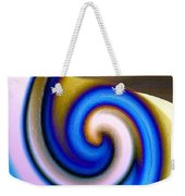 Abstract Fusion 114 Weekender Tote Bag by Will Borden