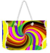 Abstract Fusion 123 Weekender Tote Bag