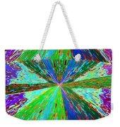 Abstract Fusion 129 Weekender Tote Bag