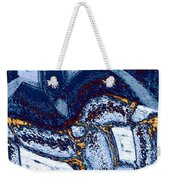 Abstract Fusion 137 Weekender Tote Bag
